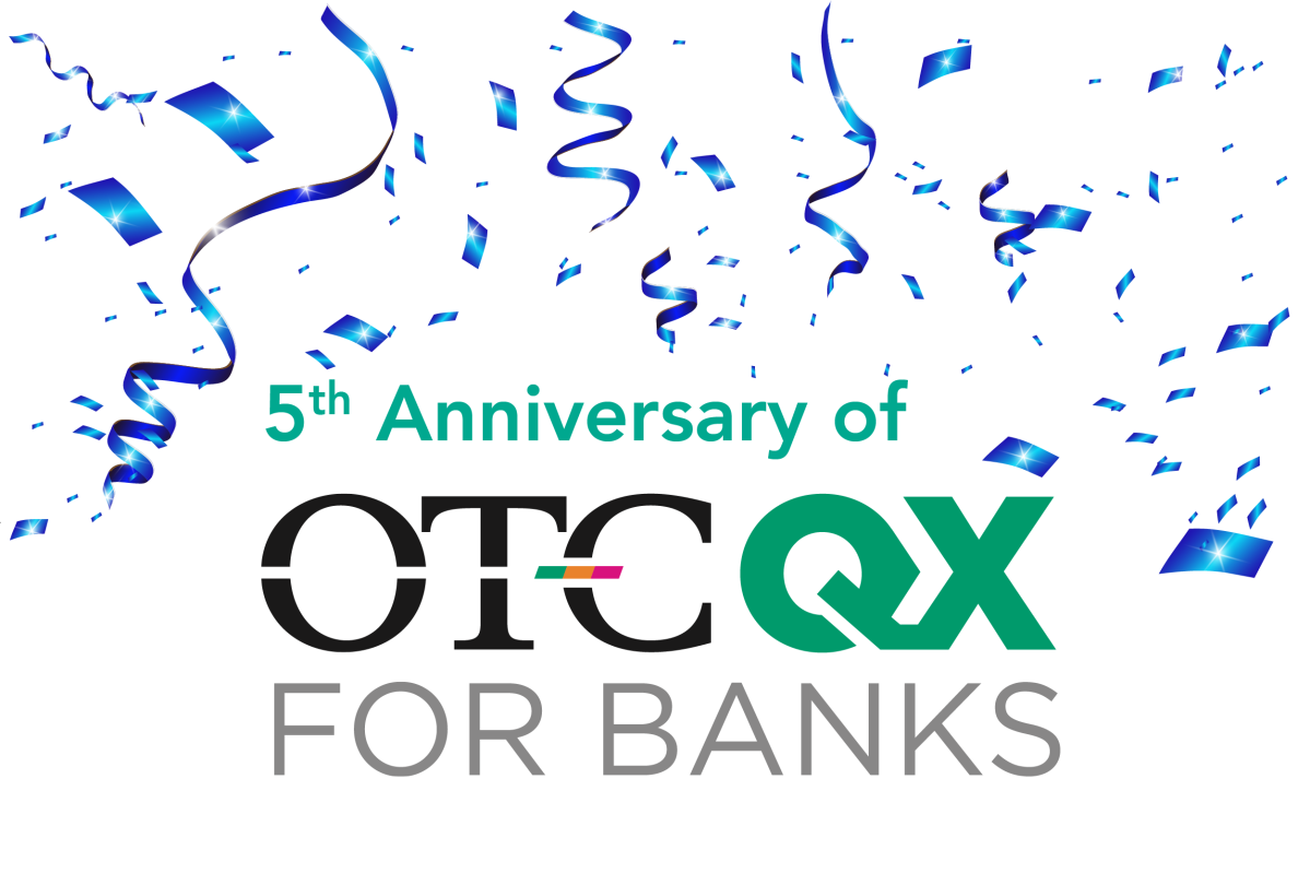 May Marks the 5th Anniversary of OTCQX Banks – OTC Markets Blog